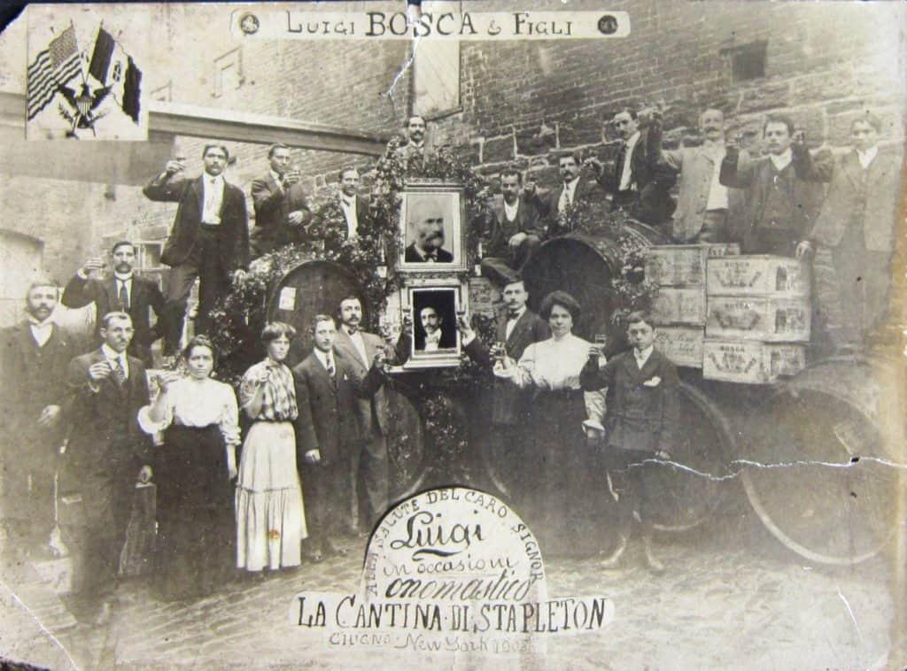 Bosca Dipendenti filiale Stapleton - 1908