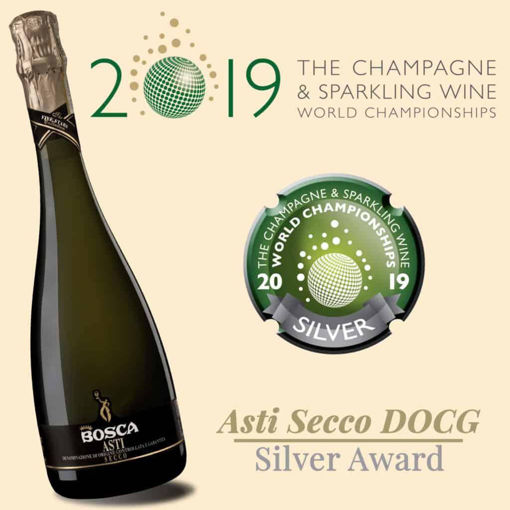 Champagne and Sparkling UK premio asti secco bosca